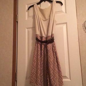 d42954d921 Maurices tan dress w  belt